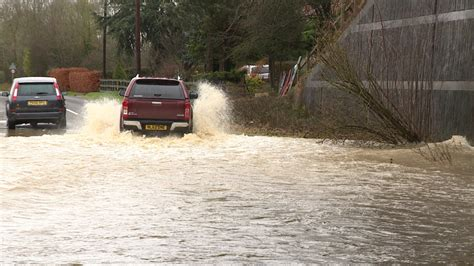 flood warnings as heavy rain and snow falls in the anglia