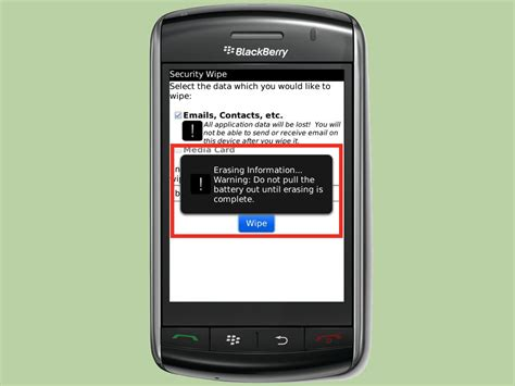 reset blackberry storm how to wipe your blackberry storm clean 8 steps with