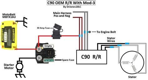 c90 suzuki motorcycle wiring diagram wiring diagrams