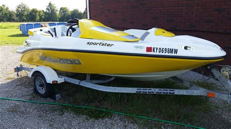 sea doo boat models by year sea doo sportster boat for sale from usa