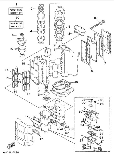 yamaha outboard motor parts diagram yamaha outboard parts diagram wiring diagram with