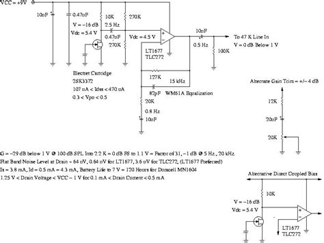 electret microphone lifier circuit also electret microphone lifier lavalier electret wiring diagram wiring diagram and