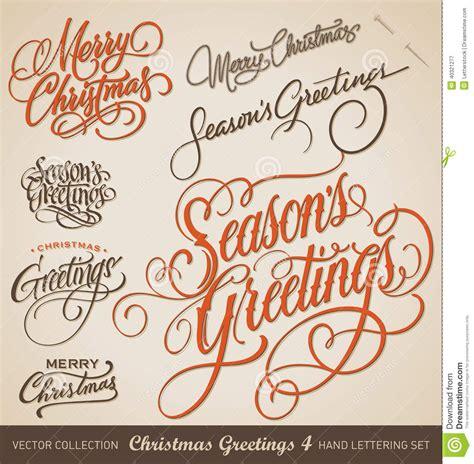 Handmade Lettering - lettering set vector stock vector image