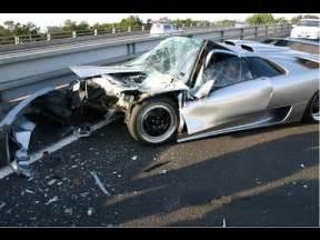 Lamborghini Reventon Crash Lamborghini Huracan Crash