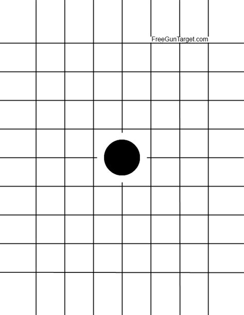 grid pattern target inch grid target images frompo