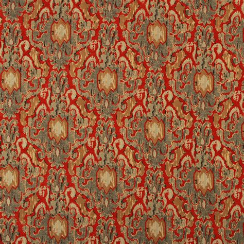 ikat upholstery fabric red gray ikat upholstery fabric woven upholstery fabric for