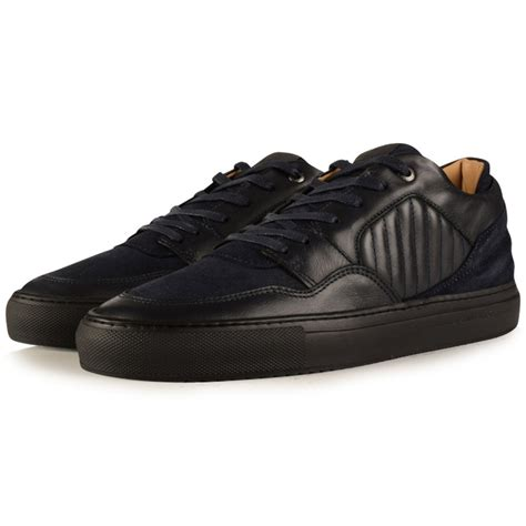 Android Homme by Android Homme Android Homme Navy Omega Low Trainers