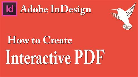 tutorial indesign interactive pdf how to create interactive pdf with adobe indesign video