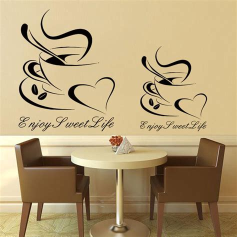 design cheap vinyl home decoration coffee cup