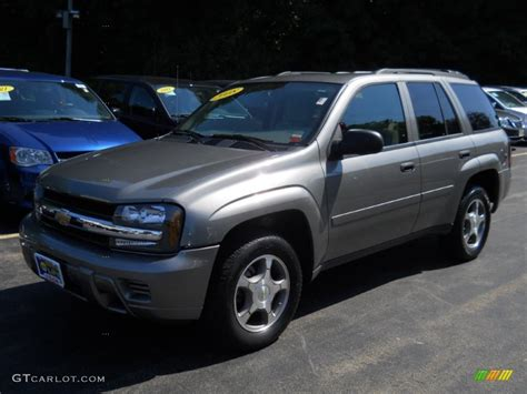 chevrolet trailblazer 2008 image gallery 2008 trailblazer gray