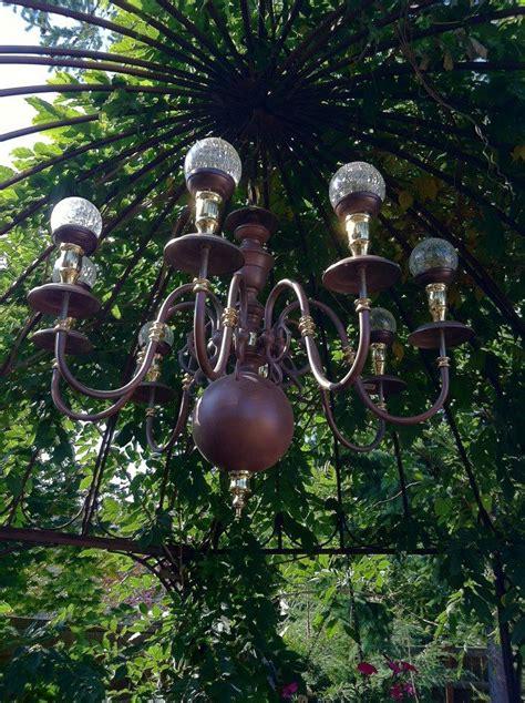 Solar Outdoor Chandelier Best 25 Solar Light Chandelier Ideas On