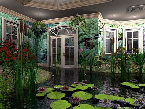wallpaper of green house the greenhouse abstract cattails door flowers green indoor