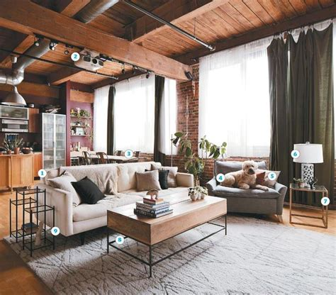 how to decorate a loft apartment