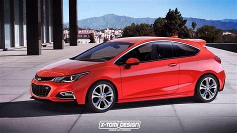 3 Door Hatchback by Chevrolet Cruze Rs 3 Door Imagined Rendering