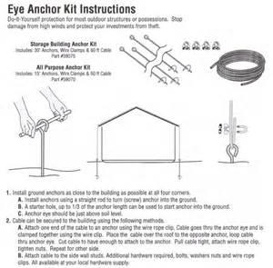 popular storage shed eye anchor kit shed fans