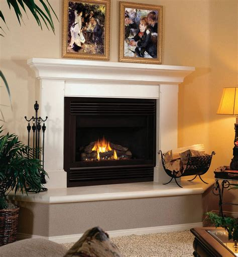 Gas Fireplace And Mantel Gas Fireplace Surrounds And Mantels Fireplace Designs