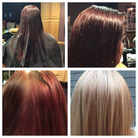 malibu hair treatment for rust malibu treatment blonde hair color correction 1 malibu c