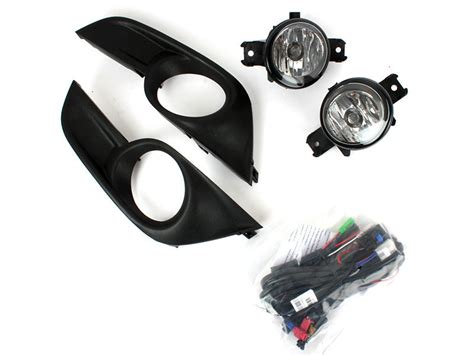 jdm nissan altima 2013 jdm style clear fog light with cover wiring switch kit for