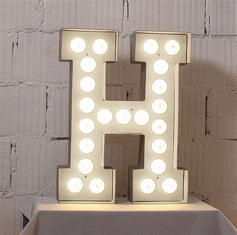 light letters alphabet light by letteroom notonthehighstreet