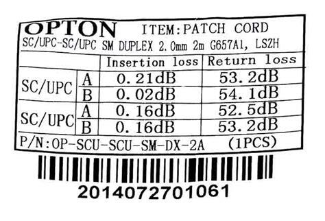 Patch Cord Patchcord Sc Upc Sc Upc Dx Duplex Sm5m Fo Fiber Optic Optik patchcord 蝗wiat蛯owodowy sc upc sc upc sm duplex 2mm 2m g657a1