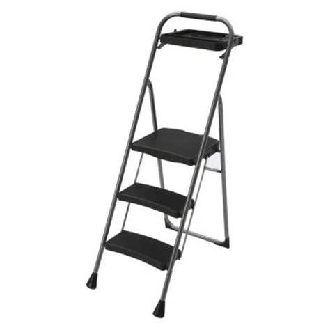easy reach by gorilla ladders mini steel 3 step