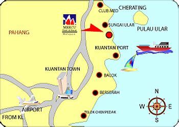 le resort kuantan map mercu resort cherating
