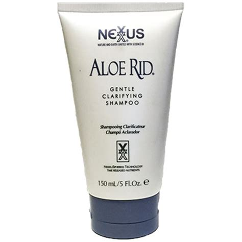 Aloe Rid Detox Shoo by Nexxus Aloe Rid Pass My Test