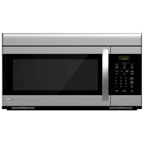 Microwave Oven Lg Ms2147c lg lmv1683st 1 6 cu ft stainless steel the range