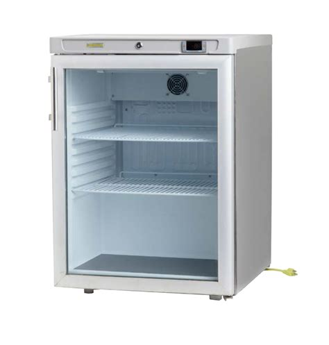 Glass Door Undercounter Refrigerator by Hebvest Uc01gd 6 3cf Glass Door Undercounter Refrigerator