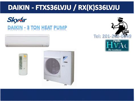 Ac Daikin Split Wall daikin skyair 36 000 btu 18 seer ductless mini split air