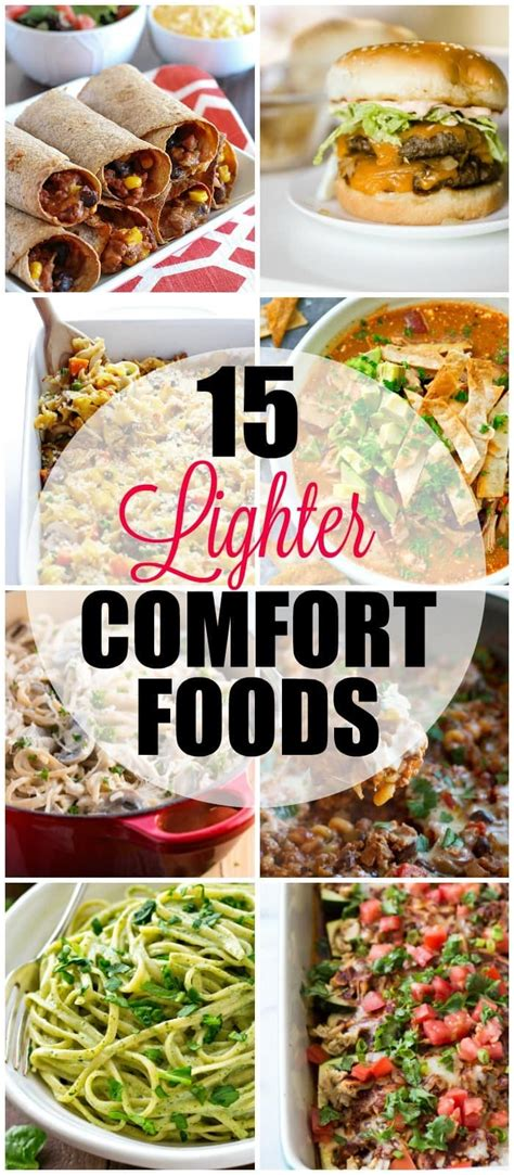 healthy comfort foods 15 light healthy comfort food recipes yummy healthy easy