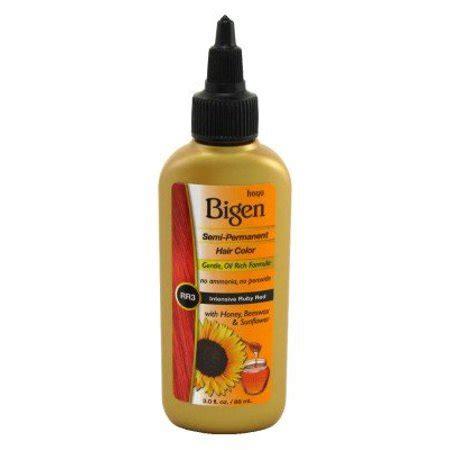 bigen hair color reviews bigen semi permanent hair color ruby 3 0 ounce pack
