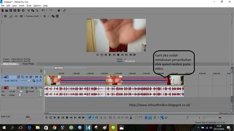 membuat video slow motion cara membuat slow motion speed motion pada video dengan
