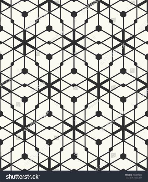 design pattern node vector seamless pattern stylish fabric print stock vector