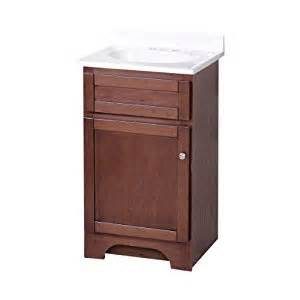 18 in bathroom vanity cabinet foremost cocat1816 columbia 18 inch cherry