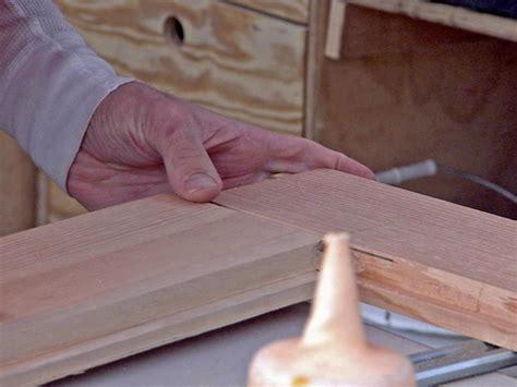 build  wooden screen door hgtv