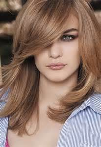below shoulder simple layered hair style shoulder layered haircuts 2016