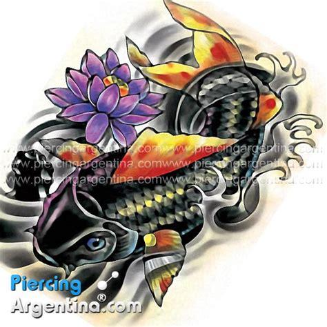 pez koi tattoo en 3d tattoo flash pez koi