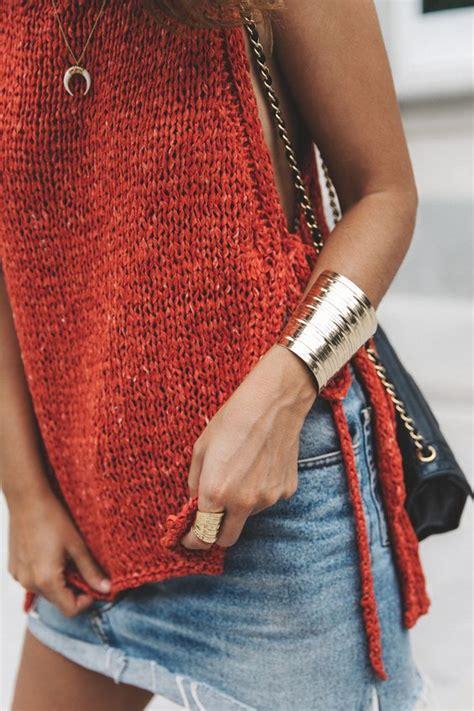 41976 Black White Horn And Knit Casual Top Le250517 Import summery knit levis vintage skirt zalando espadrilles black sandals collage vintage horn necklace