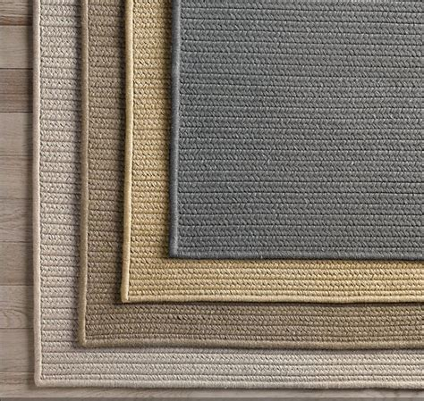 Soft Outdoor Rug Restoration Hardware S Solid Sunbrella Outdoor Rugs Are Durable Soft Reversible Mold