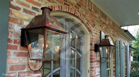 new orleans gas ls 38 new orleans style with bracket gas lanterns and lights