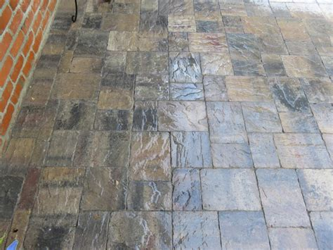 Paver Patio Sealer How To A Failed Brick Paver Sealer That Has Turned White Restoration Steps The Sealer