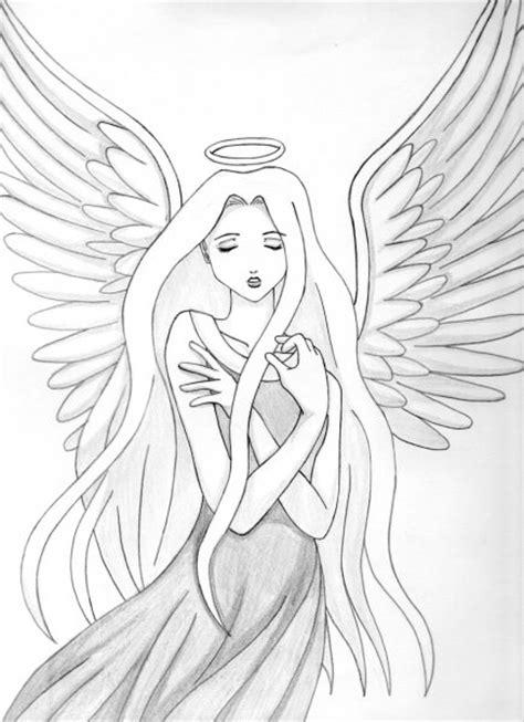 imagenes de angeles y demonios para dibujar a lapiz the gallery for gt dibujos a lapiz de angeles anime