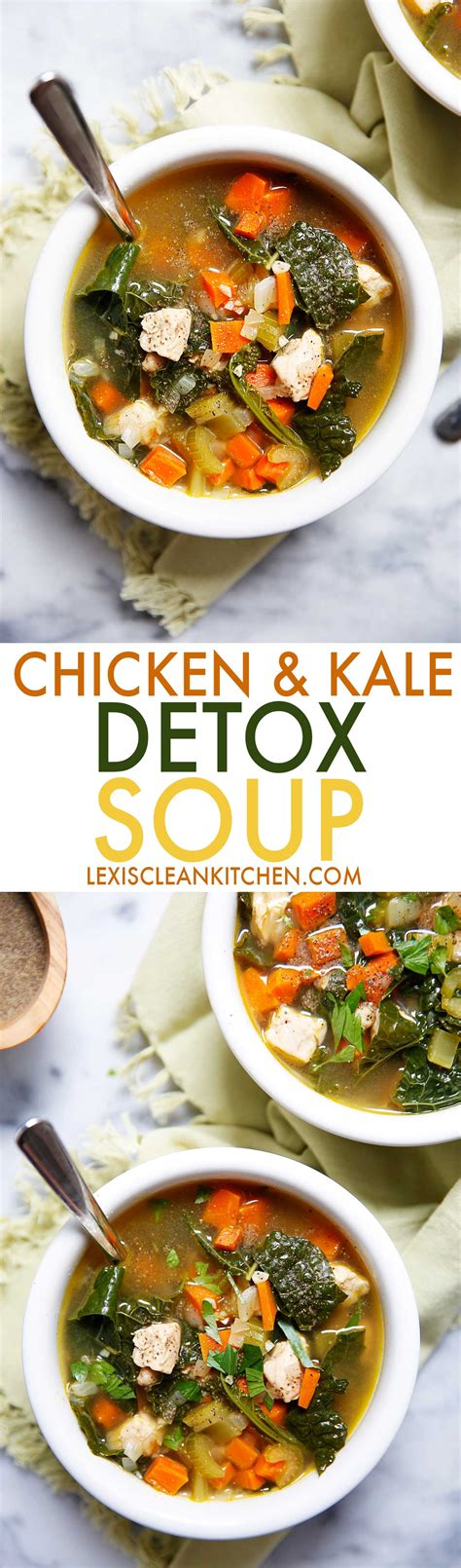 Organic Detox Soup Recipe by Chicken And Kale Detox Soup Recipe