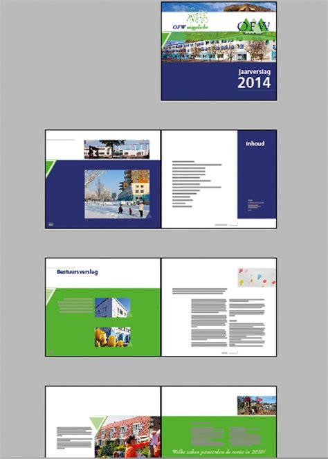 layout word verslag voorbeeld jaarverslag training in concepts print design