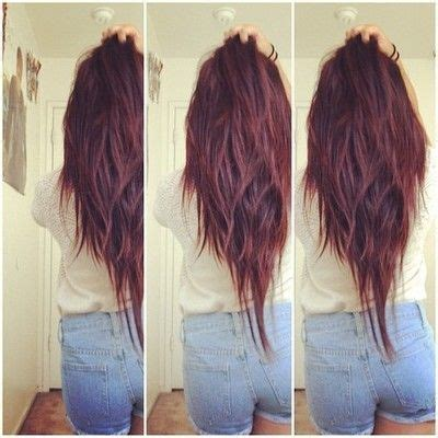 pictures of v shaped hairstyles v shaped haircut hair styles pinterest v shaped haircut style and v shaped layers