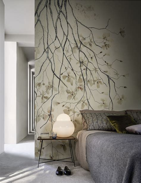 wallpaper wall and deco wallpaper ramage by wall dec 242 design antonella guidi