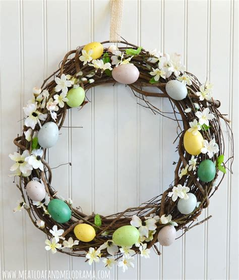 Wreath Ideas For Front Door by 50 Spring And Easter Wreaths With Fresh Designs