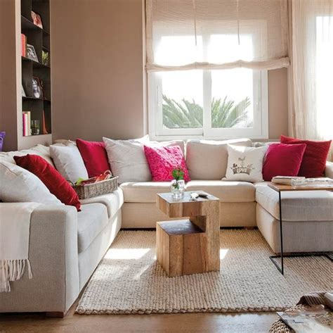 mesas sofas y mueble para salon comedor - Decorar Apartamentos Muy Pequeños