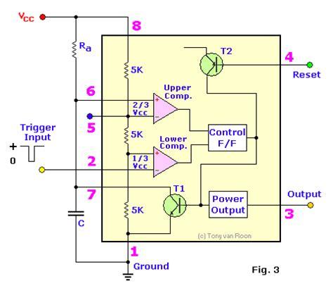 555 block diagram a 555 timer ic tutorial